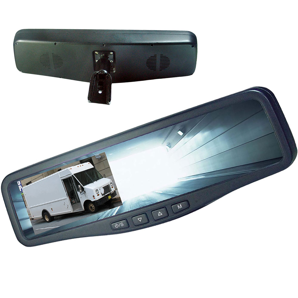 Zone Defense rearview mirror monitor