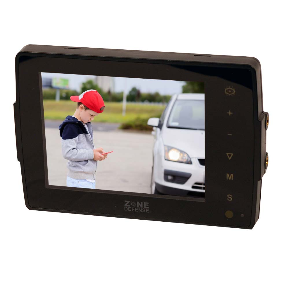 Zone Defense 5 inch flat monitor