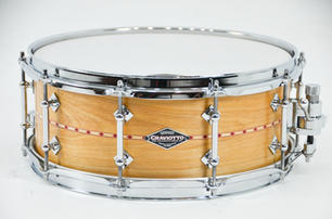CS Beech with Red Inlay Snare Drum