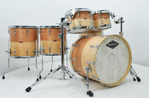 Private Reserve Stacked Solid - Cherry over Birdseye Maple