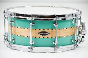 CS Seafoam/Natural/Seamfoam Snare Drum.