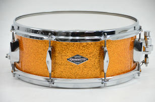 Diamond Drums Solid Shell in Gold Sparkle