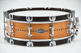 CS Beech with Wood Hoops Snare Drum