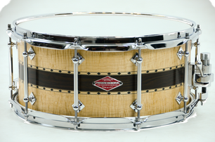 Private Reserve Curly/Wenge/Curly Snare Drum