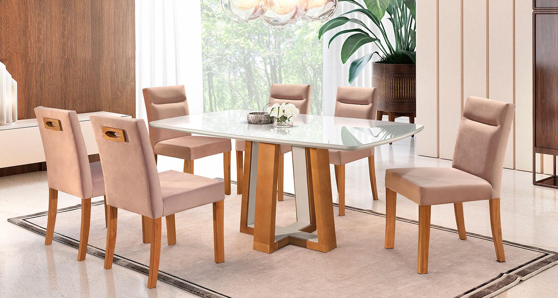 Mesa KRV 300 com Cadeiras KR 069