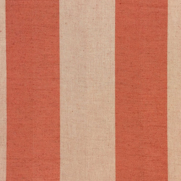 4 Inch Ticking Stripe Col. Sienna