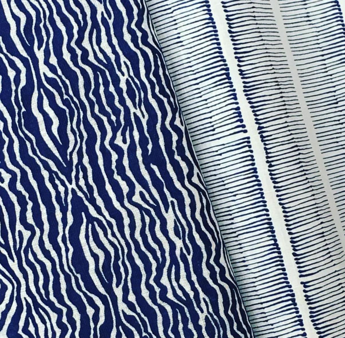 Grevy Stripe & Cornwall Stripe