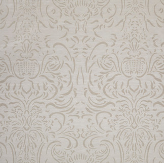 French Damask Outline