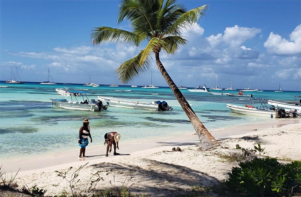 Praia Ilha Saona