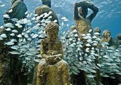 museu subaquatico riviera maya