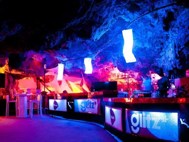 festa caverna Punta Cana