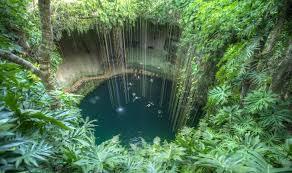 passeios cenote méxico