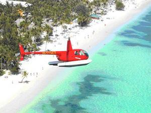 passeio helicóptero Punta Cana