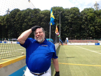 Steve Wozniak Played in this Year's Segway Polo World Championships