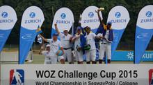 Barbados are 2015 Segway Polo Champs