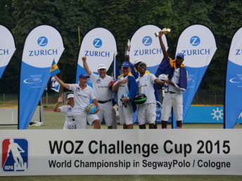Barbados are 2015 Segway Polo Champs