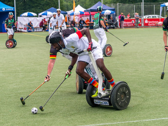 Segway Polo holding its own