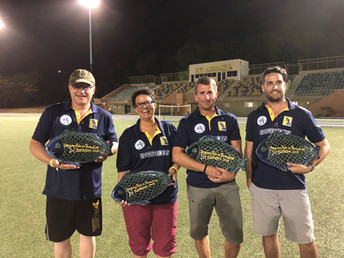 Green Monkeys Crowned 2018 Barbados Cup Champions