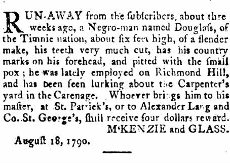 The Ethnic Origins of Enslaved Africans in Grenada