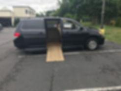 2008 Honda Odyssey Handicap Van