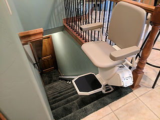 wheelchair lifts for inside home use make it easy to g up and down stairs