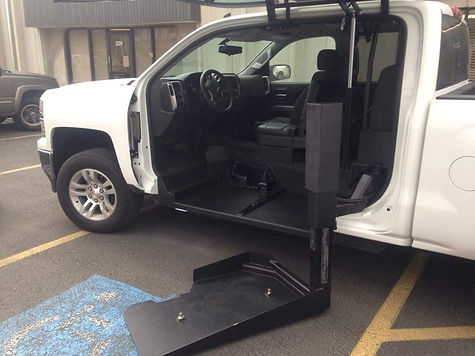 Wheelchair Accessible 4x4 Truck for Driver