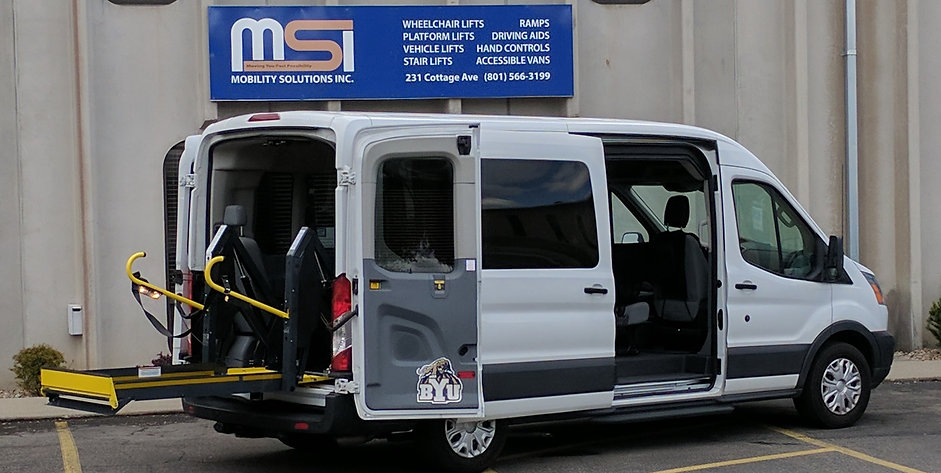 Mobility Solutions Van for Disabled or Handicap