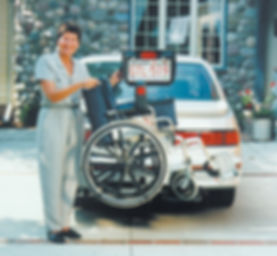 hitch mounted hydraulic wheel chair lift