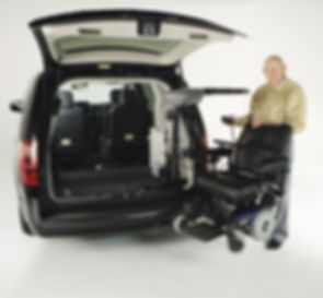 van with wheelchair lifts