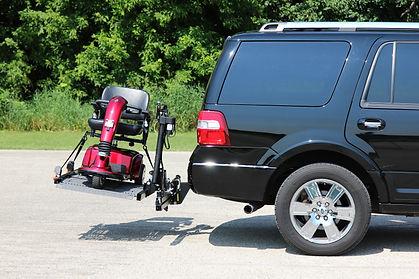 rear door minivan wheelchair lift