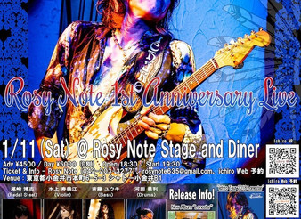 2020/1/11 Rosy Note 1st Anniversary Live🌹
