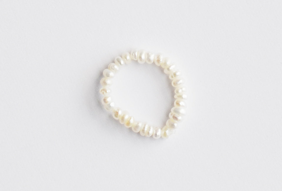 Mandy Holiday Pearl Ring