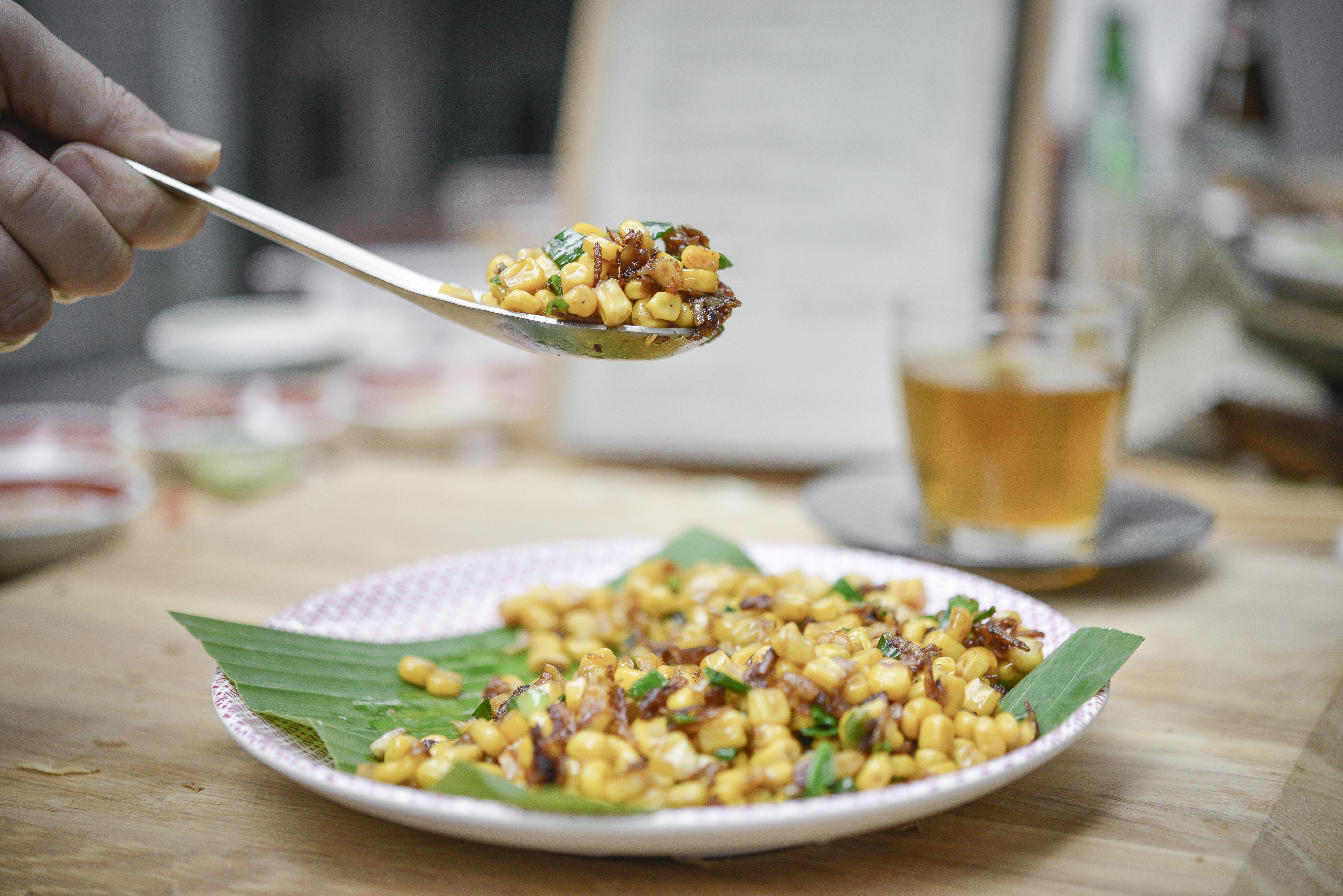 Bap Xao Tep - Delicious Corn
