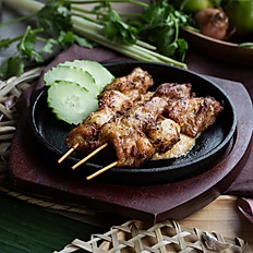 405  Chicken Satay Skewers