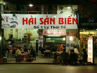 Street food straight from Hanoi