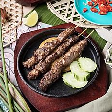 406  Beef Satay Skewers