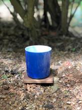 Amazing cerulean blue