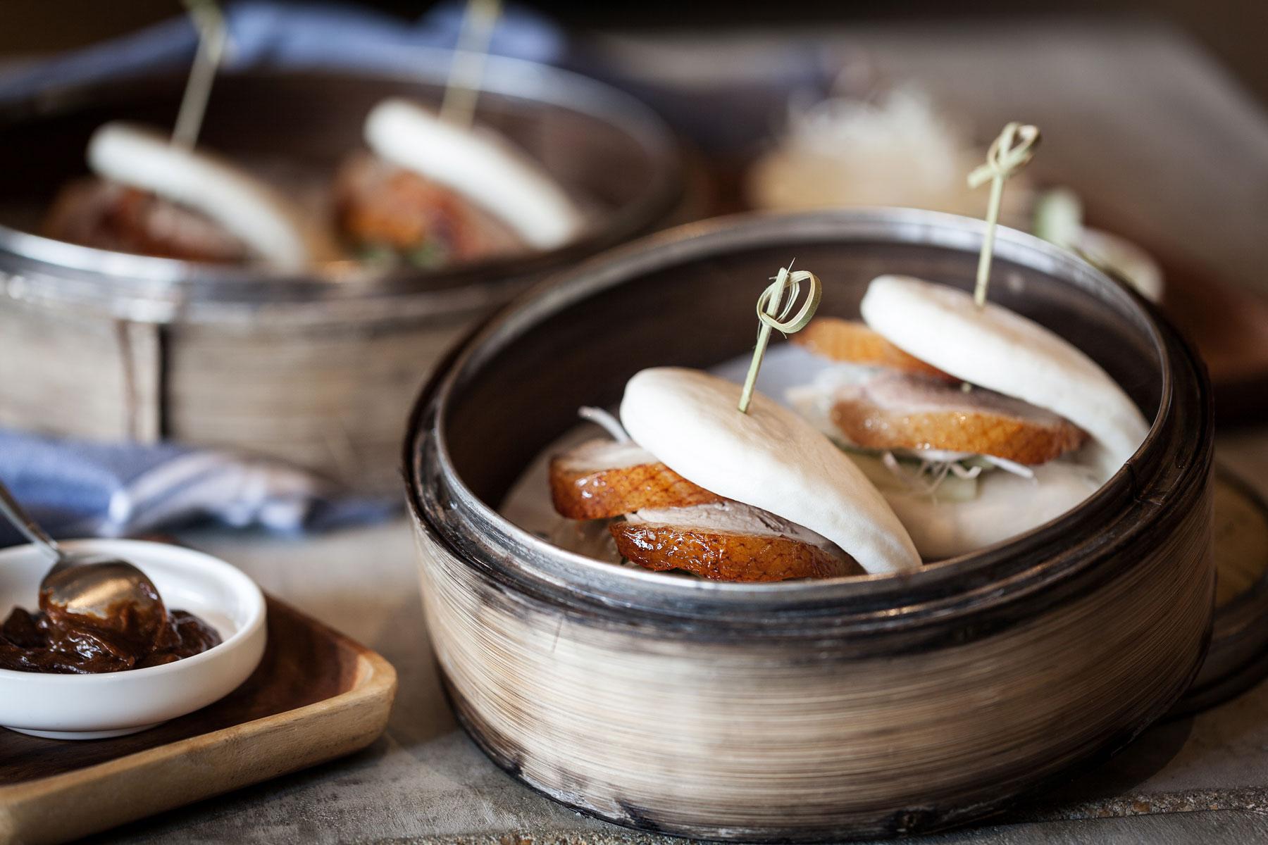 Peking Duck in Steamed Buns