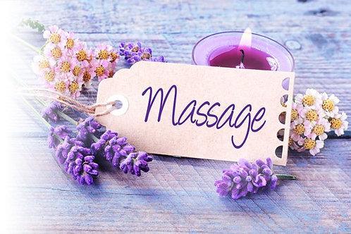 Bon cadeau massage(s) au choix