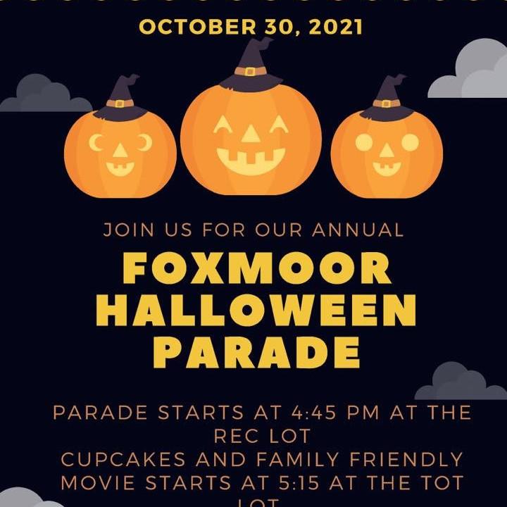 Foxmoor Halloween Parade