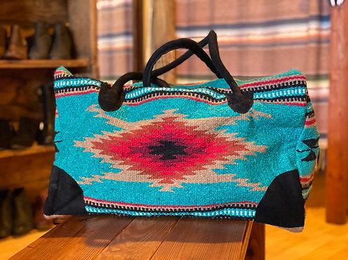 Turquoise Weekender Bag