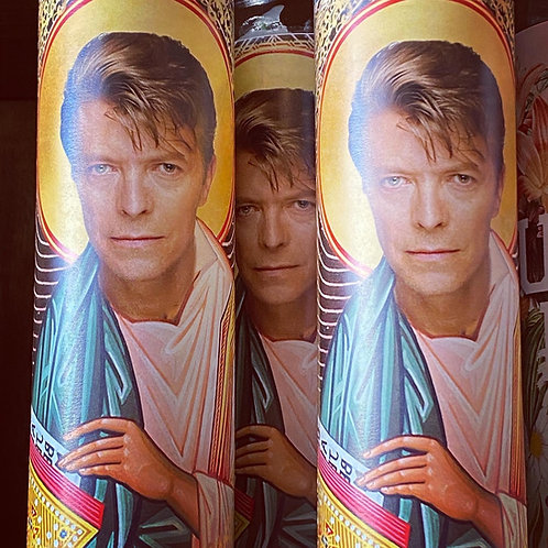 Bowie Prayer Candle