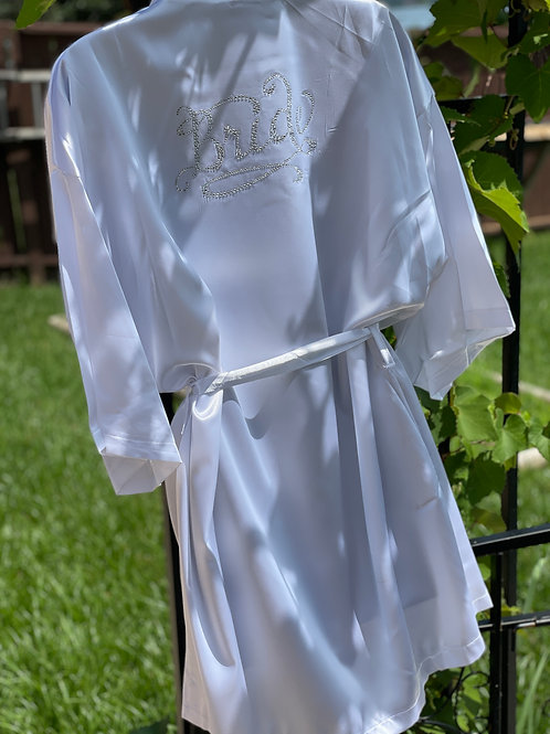 WhiteBride robe