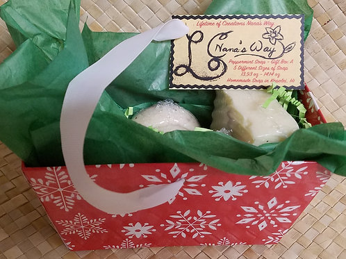 Peppermint Soap - Gift Box A