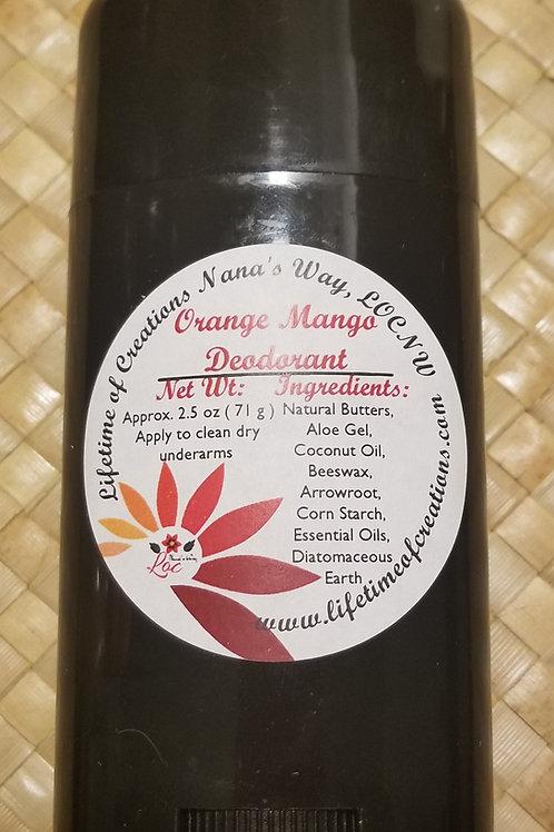 Orange Mango Deordorant