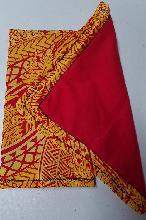 Red Towel Set