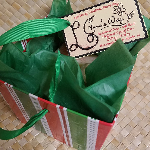 Peppermint Soap - Gift Box B