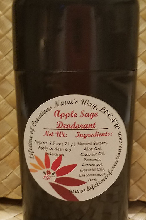 Apple Sage Deodorant