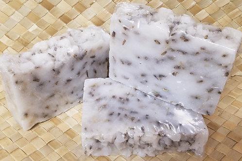 Chrissy Coconut Lavender Scrub Soap
