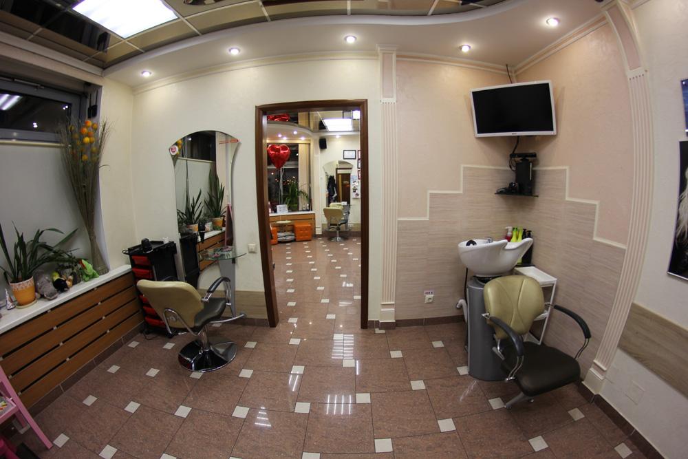 Парикмахерская зал